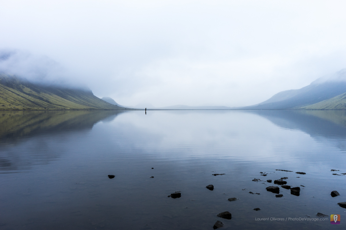 Jezioro Álftavatn Islandia