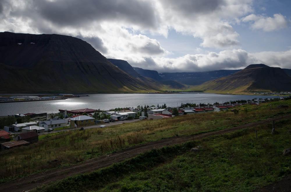 Isafjordur dans les Westfjords