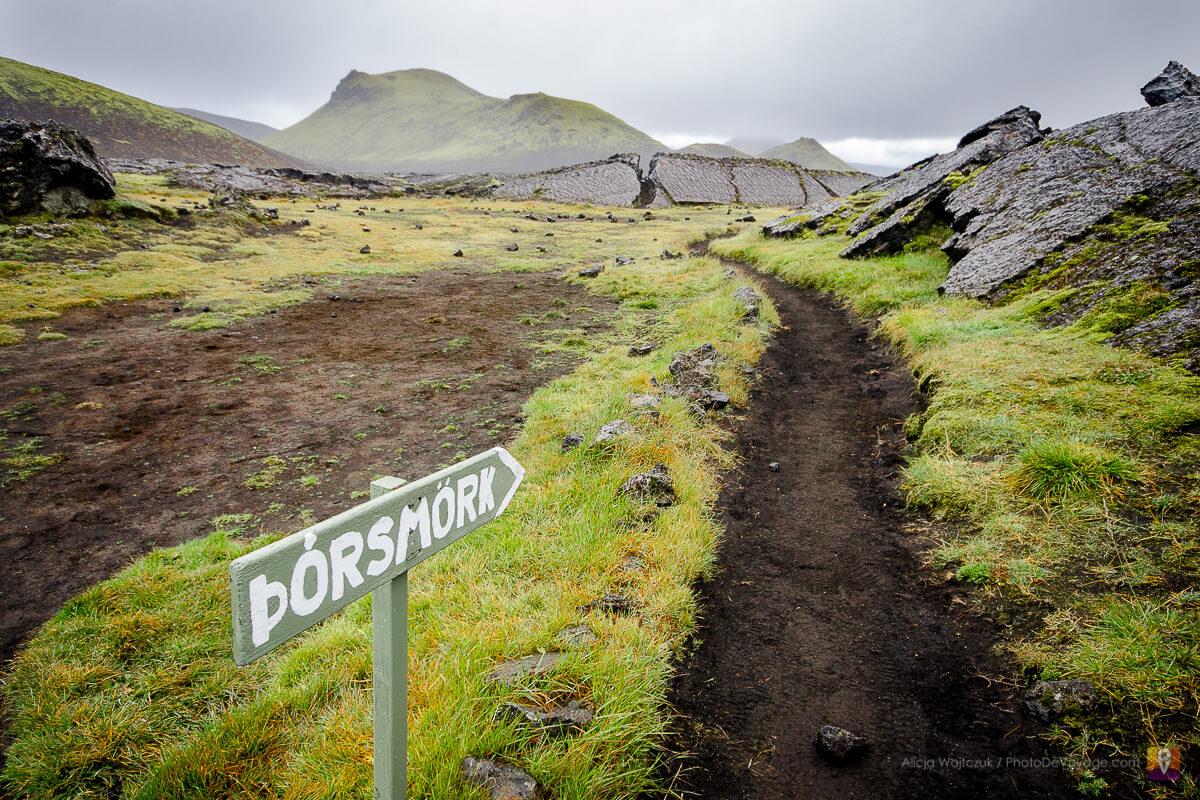 Trek Laugavegur kierunek na Þórsmörk