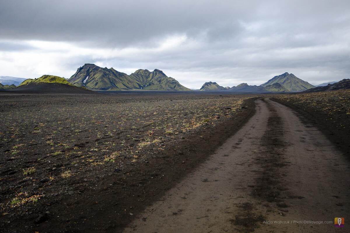 Islandia trek Laugavegur droga przez pustynię i wulkany