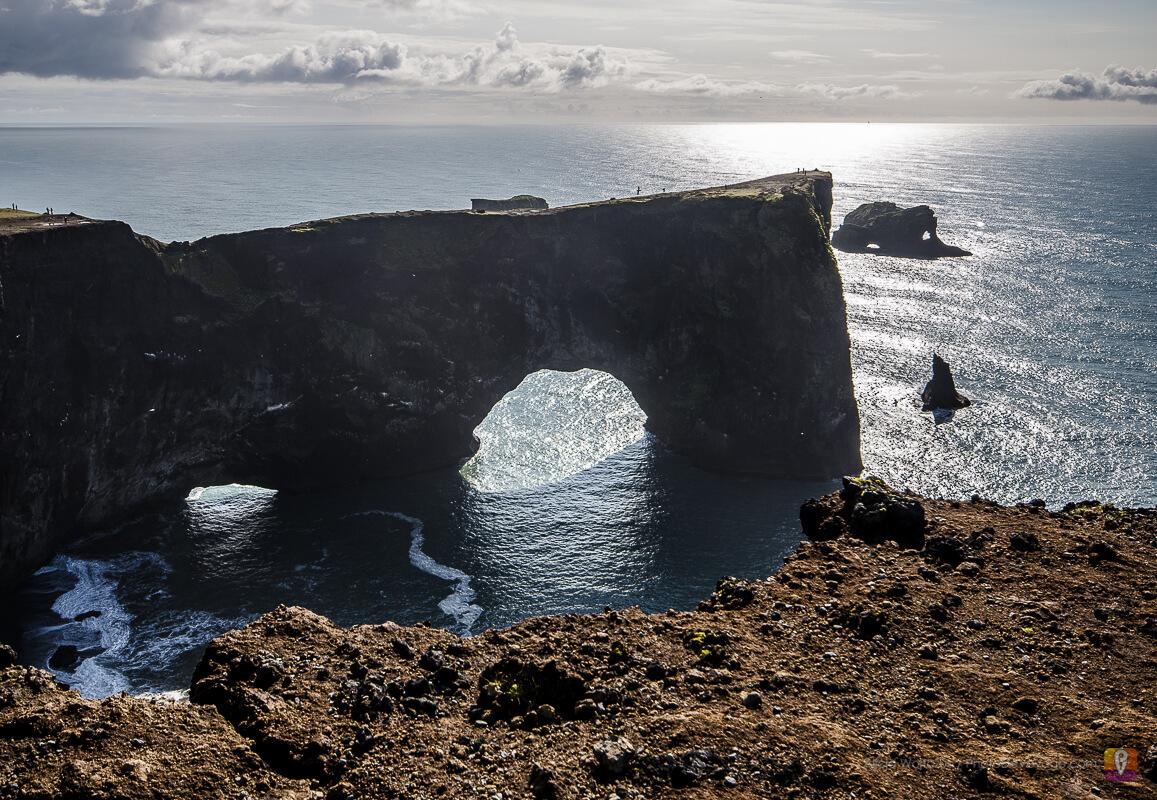 Półwysep Dyrholaey, wybrzeże południowej Islandii