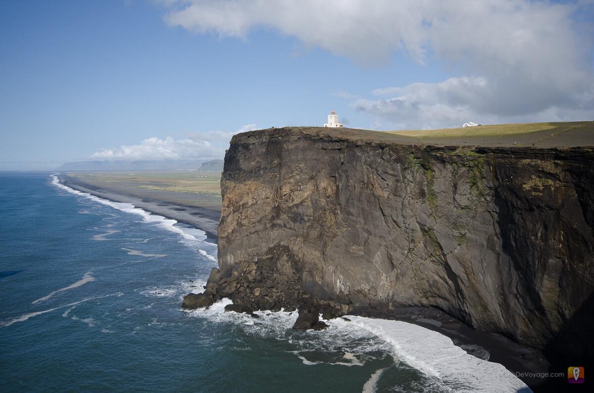 Półwysep Dyrholaey Południowa Islandia