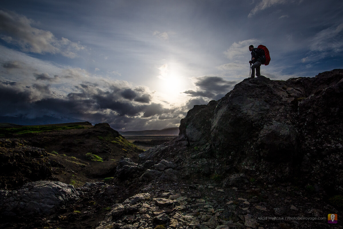 Islandia Trek Laugavegur zdobywca szlaku