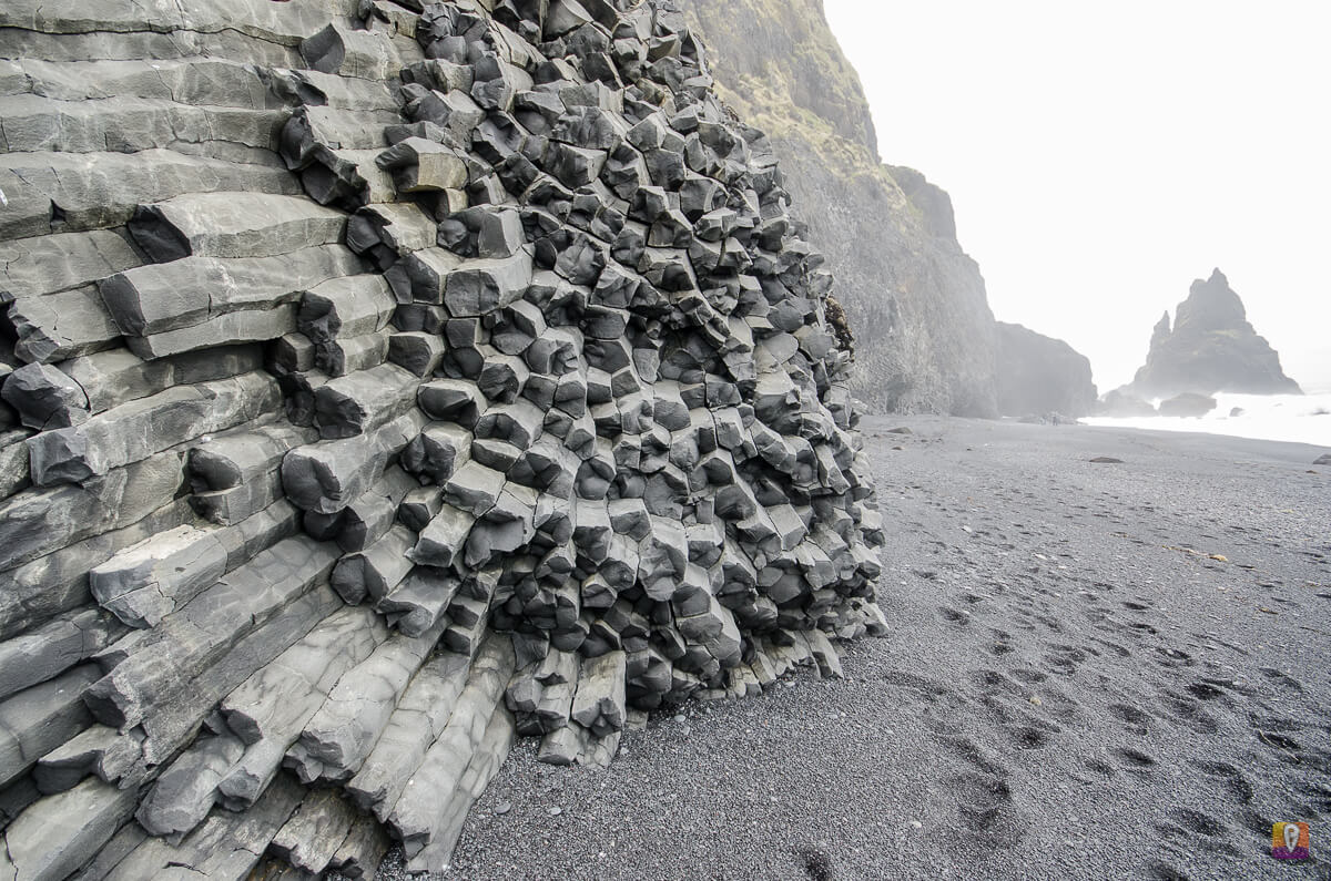 Bazaltowe organy na plaży przy Reynisfjall