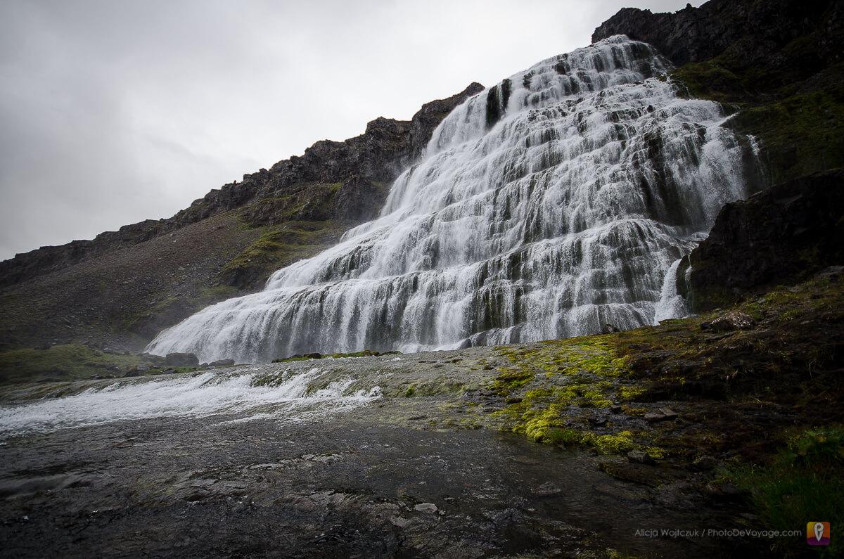 Westfjords wodospad Dynjandi