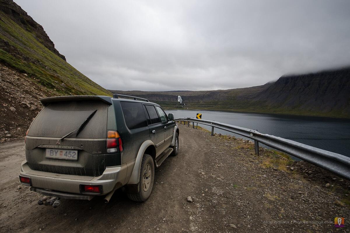 Westfjords samochód off-road