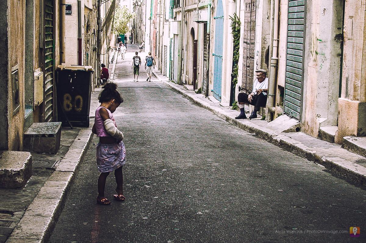 Biedniejsze dzielnice Marsylii