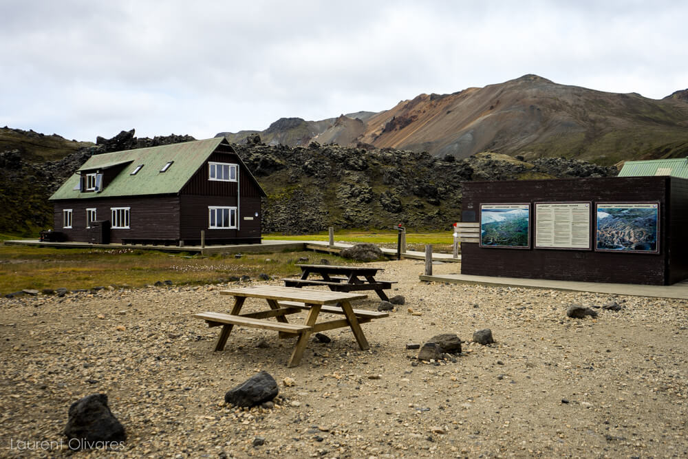 Refuge de Landmannalaugar