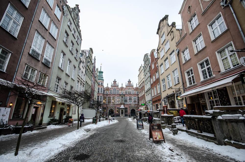 Poland - Gdańsk zimą