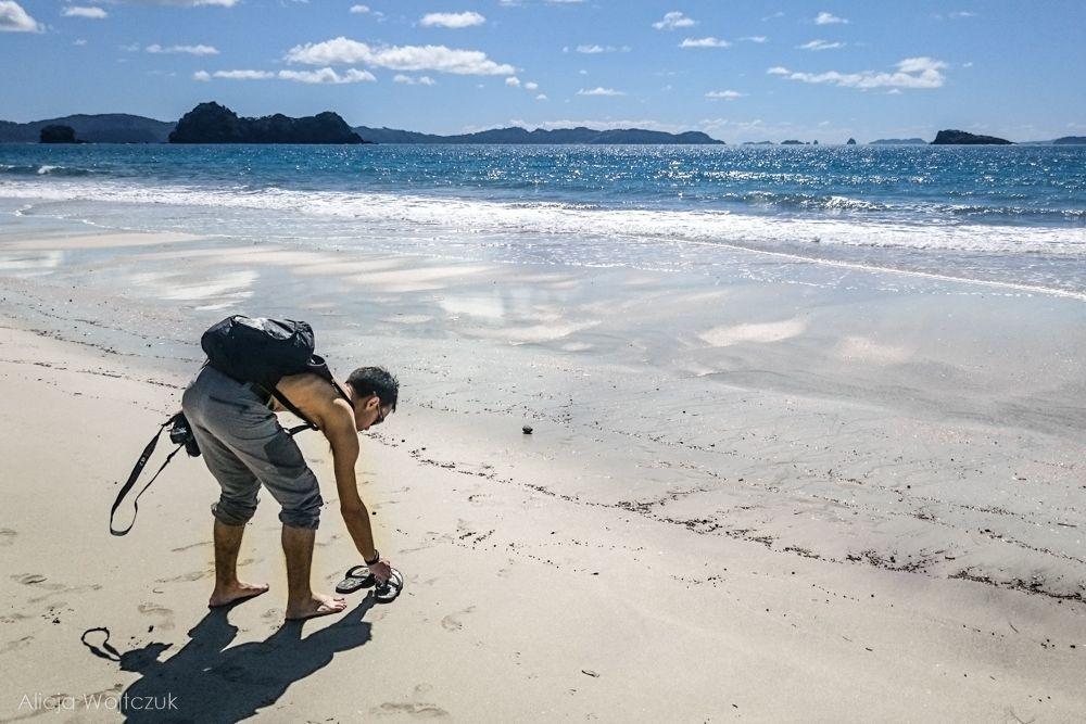 hahei-plaża
