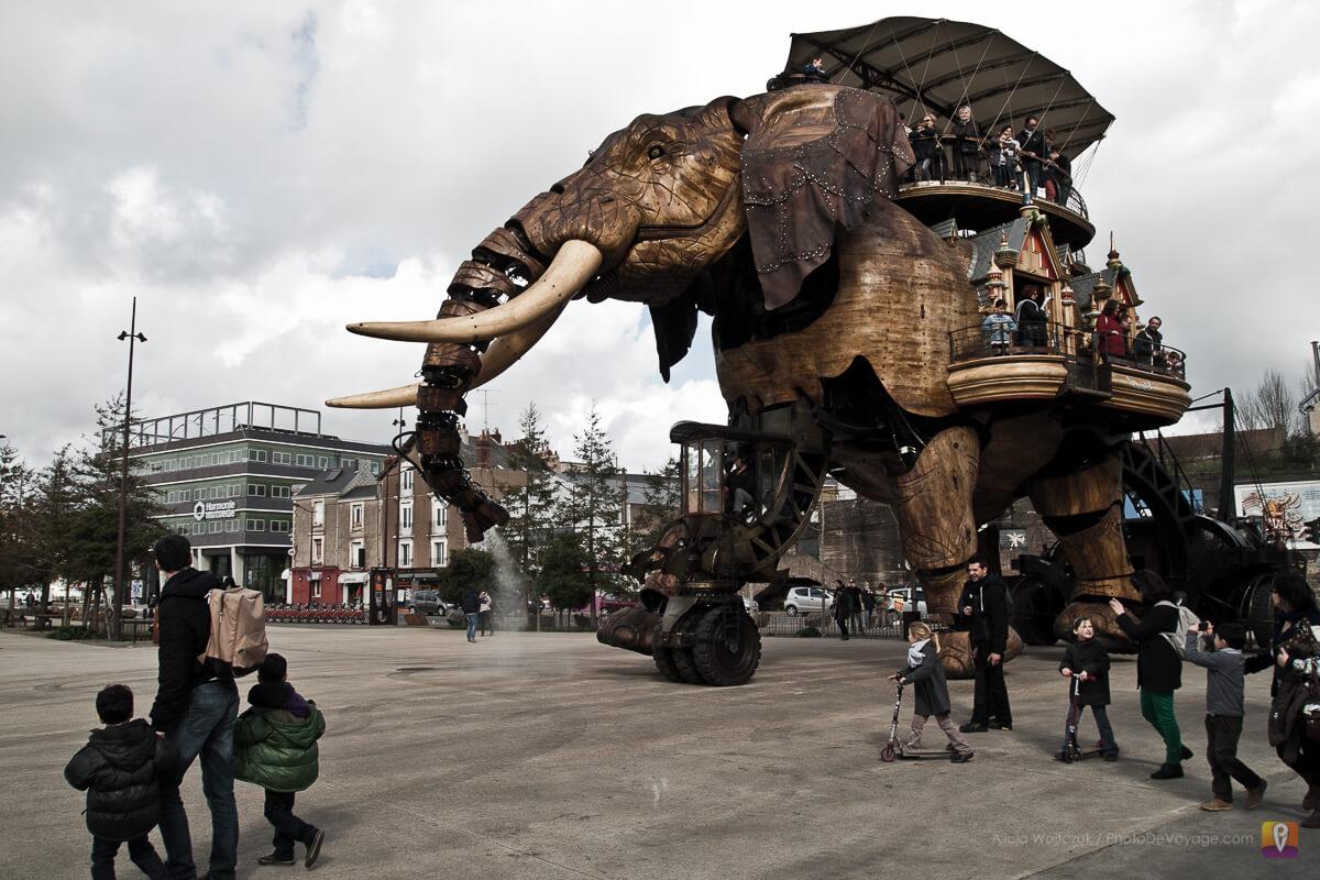 Słoń mechaniczny symbol Nantes