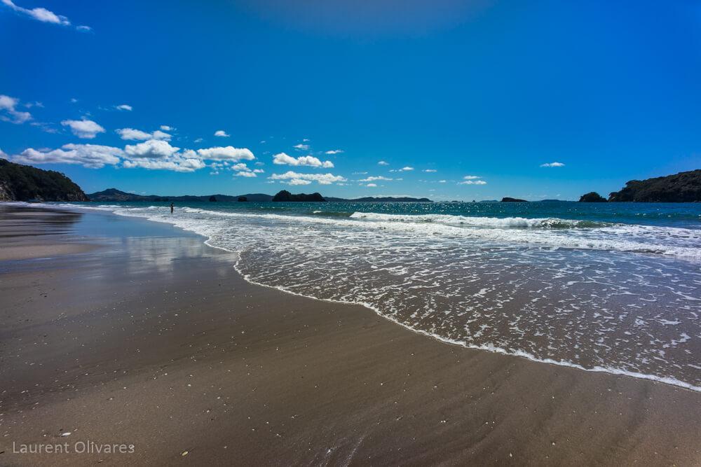 Les vagues à Hahei