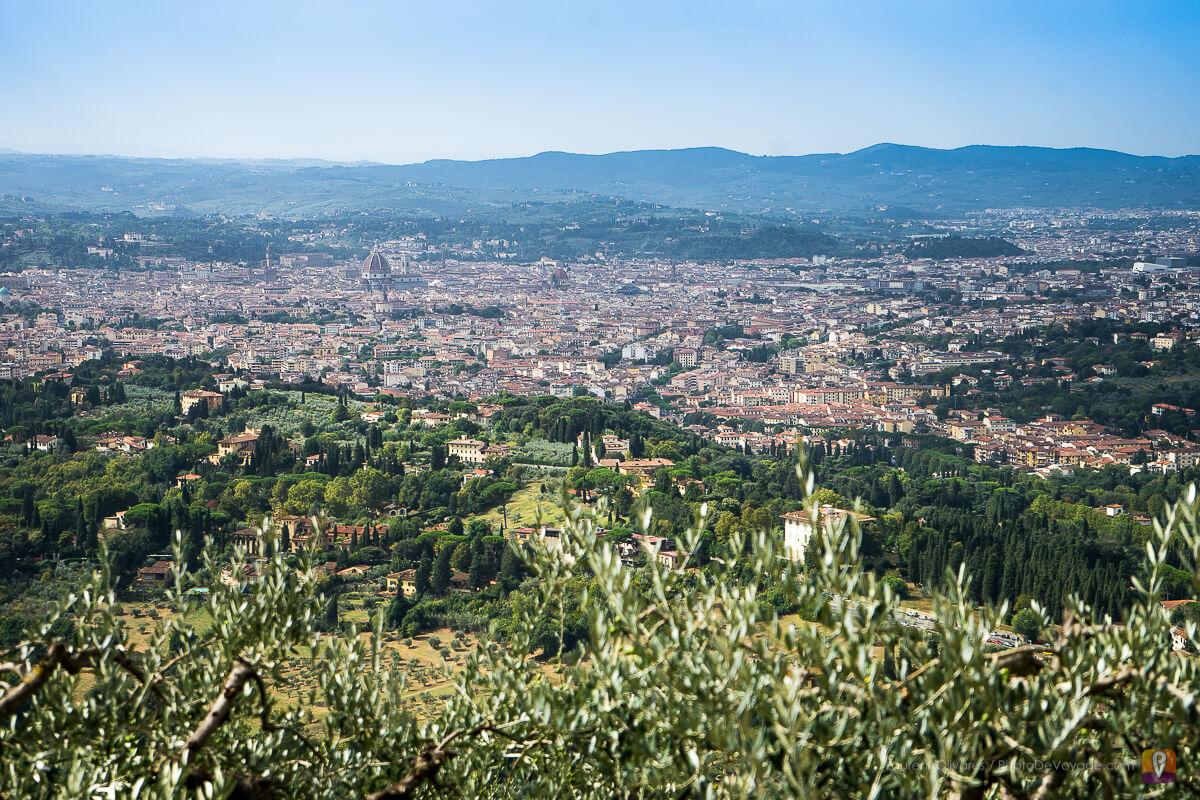 Florence vue depuis Fiesole