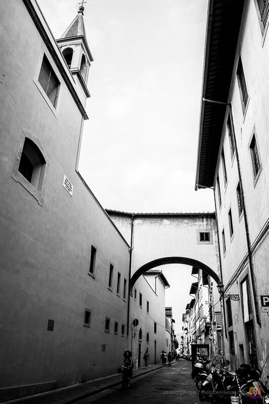 Rue typique de Florence