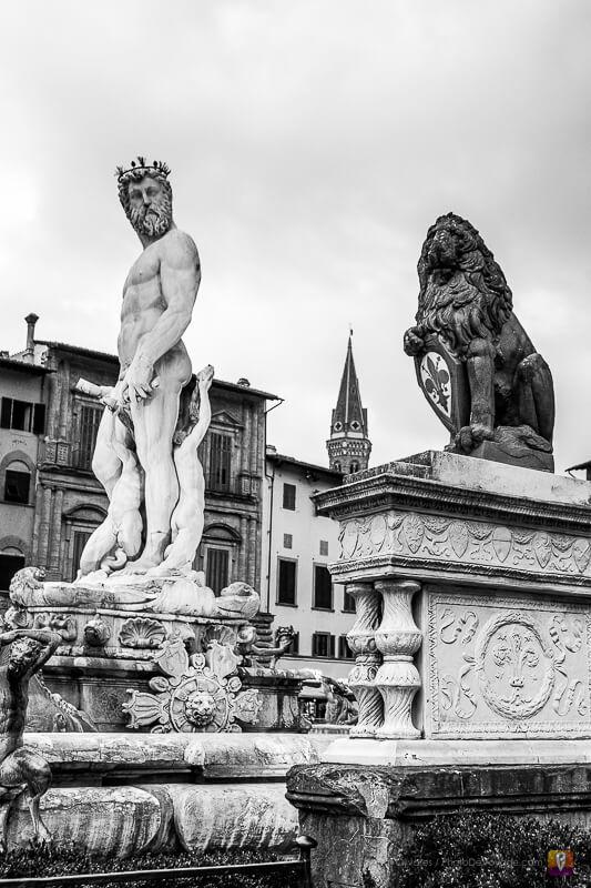Des sculptures de Florence