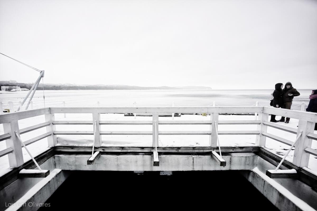 """""""Molo"""" face à la mer Baltique"""