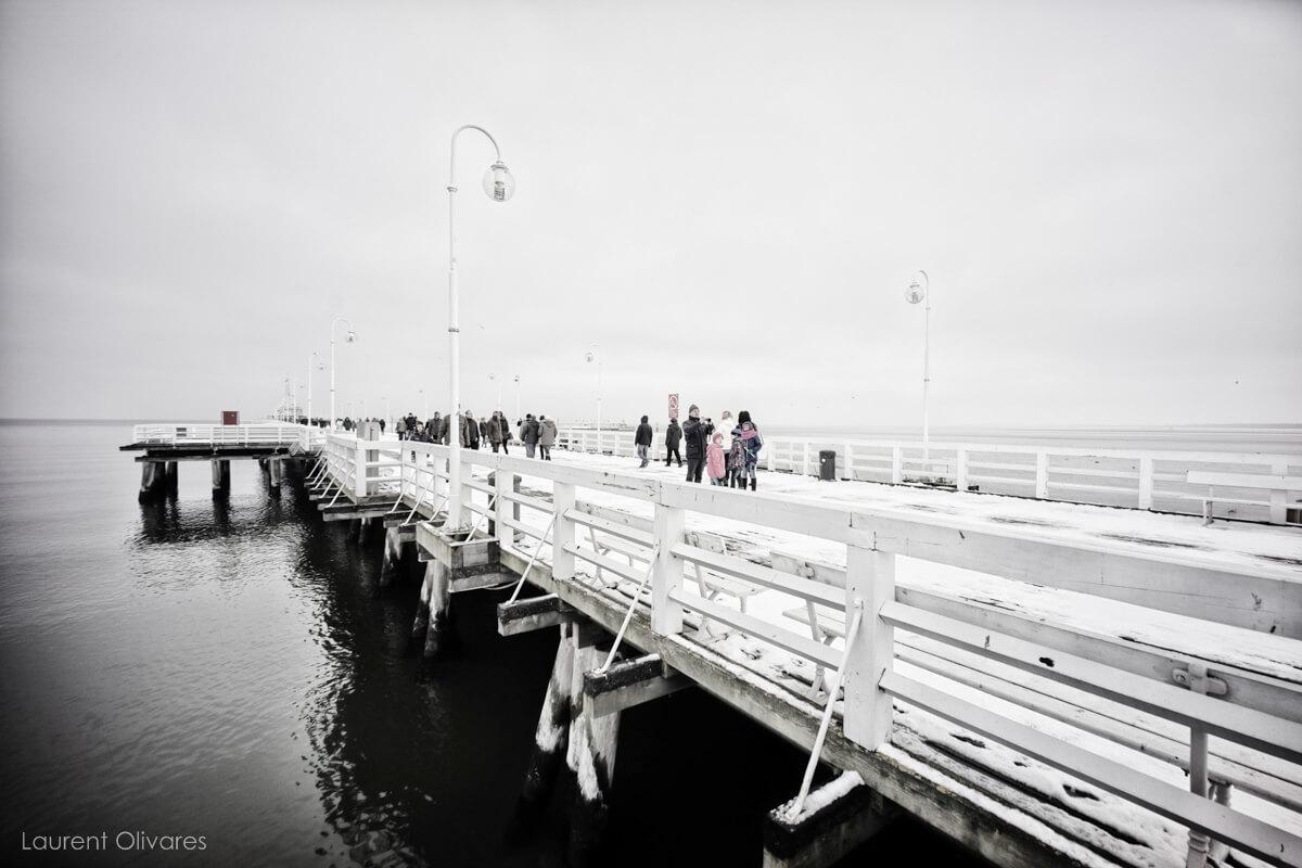 """La jetée Molo """"Le pont qui ne mène nulle part"""""""