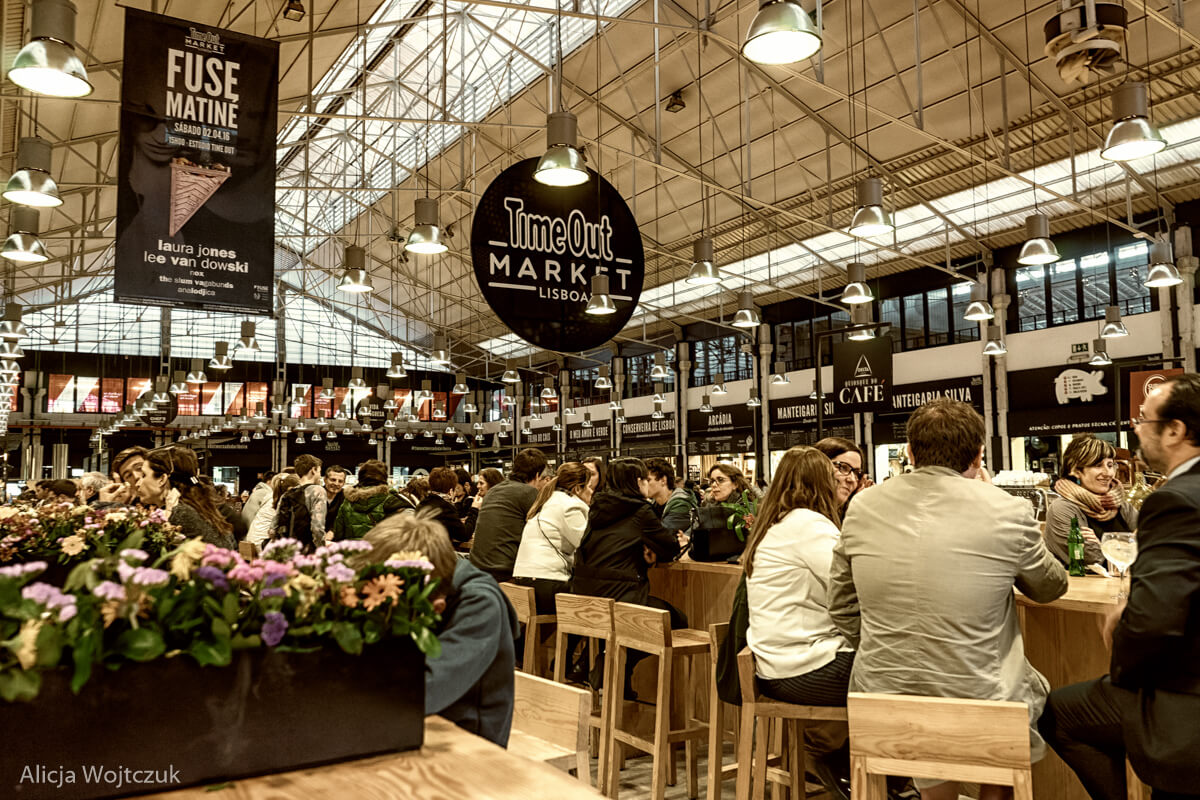 Lisbone Time Out Market
