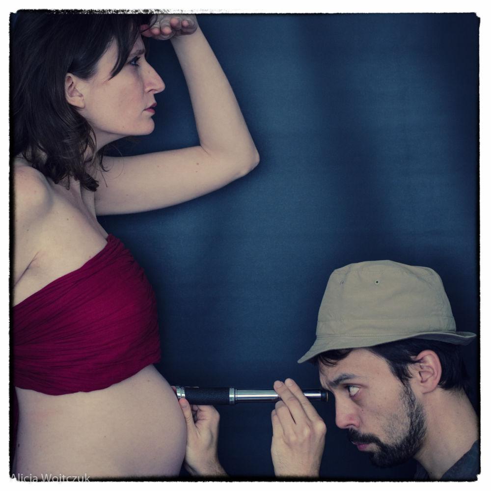 Alegoria: Podróżowanie w ciąży