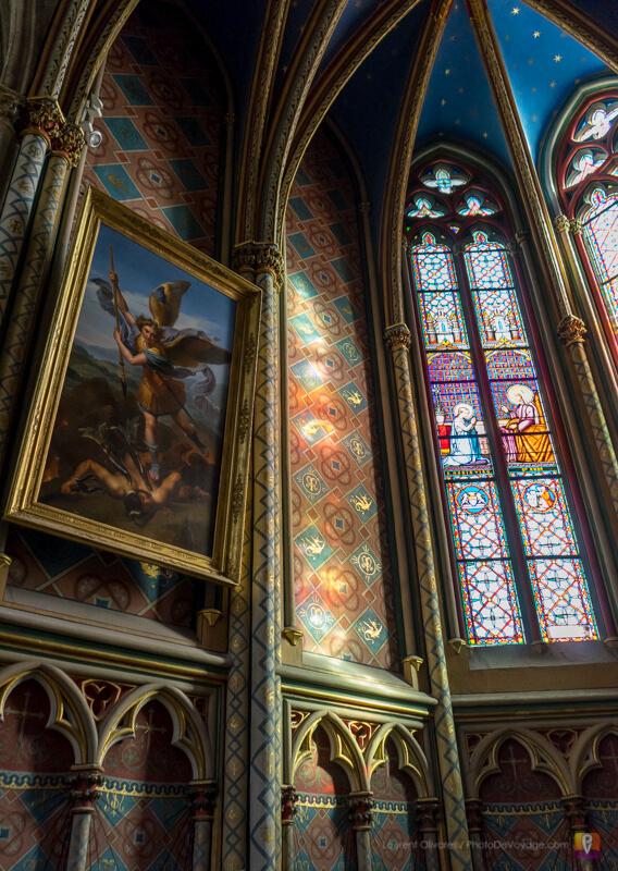 Une des absidioles de la cathédrale rénovée
