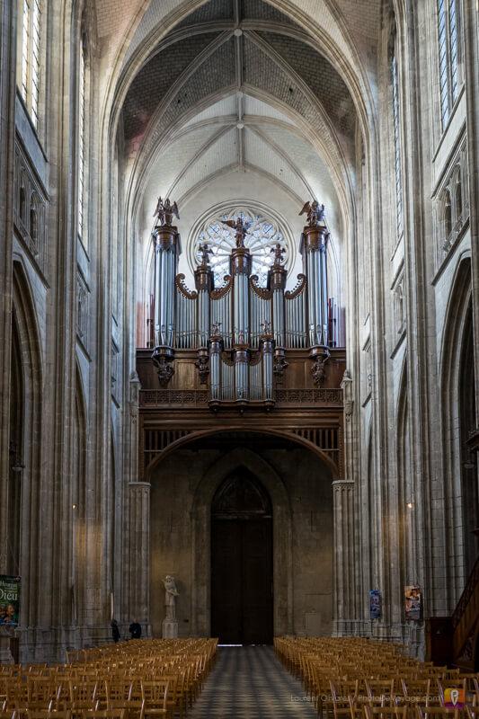 L'orgue de la cathédrale Sainte Croix d'Orléans